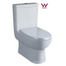 Санитарная утварь Водяной знак Стирка двух частей керамический туалет (6009)