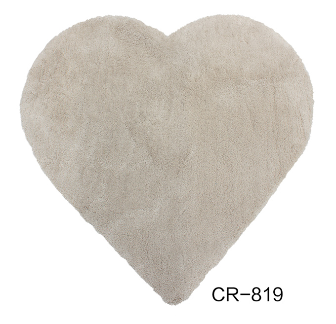 Microfiber Shaggy Rug i Shaped