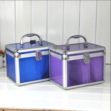 The Multicolor Acrylic CD Storage Box (hx-q054)