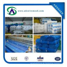 16 * 16mesh Plain Weave 70-80G / M2 Kunststoff-Fensterscheibe