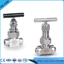 Válvula de agulha de alta pressão útil