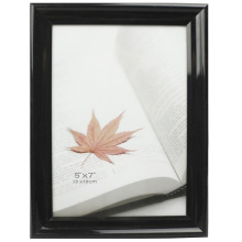 Black Shining 5x7inch Plastic Pvc Photo Frame
