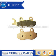 Sintered brake pads for honda ROAD KYMCO SUZUKE STREET OEM number 06445 (FA228)