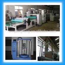 Máquina de laminación de tela de fusión en caliente / Máquina de laminado laminado HPL PUR