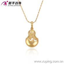 32236 Xuping bijoux cool pendentif de mode plaqué or 18 carats avec beaucoup de zircon pour les femmes