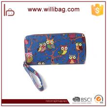 Bunte Fancy Cute Owl Brieftasche Mode Günstige Frauen Geldbörse