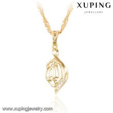 32767 xuping 14k gold plated muslim jewelry brass pendant