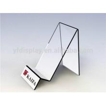 Prateleira de exposição móvel curvada do telefone móvel