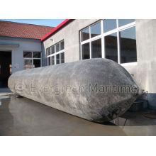Airbags de flutuação da borracha natural da doca / bolsa a ar marinha