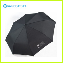 Publicidad promocional 3 paraguas plegable Rum-086A