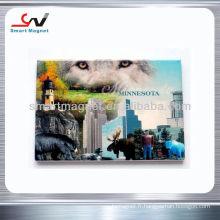 Custom Decration fashion advertising magnets pour réfrigérateur