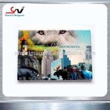 Eco-friendly advertising tourist souvenir fridge magnet