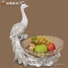 Mingya en gros décor de décoration en résine paquet de fruits en forme de plateau de fruits à vendre