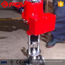 Soupape de commande électrique DN65 avec positionneur