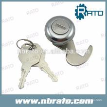 Chrome metal cupboard long metal lock for wooden box