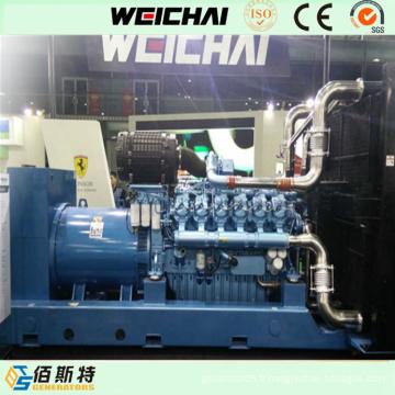 Weichai 625kVA Electric Power Baudouin Générateur de puissance à moteur diesel