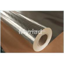 Filme de poliéster metalizado / mylar refletivo, isolamento térmico de alumínio de alta qualidade da folha reflexiva