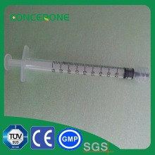 1ml Luer Lock Syringe with Needle for Medical Use