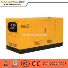 silent diesel generator 90kw water turbine with ATS system