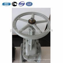 Acero al carbono de libra gost válvula de compuerta con brida tipo oleoducto utilizado