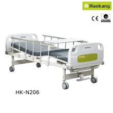 HK-N206 Zwei Funktionshandbuch Krankenhausbett (medizinisches Bett, medizinische Ausrüstung)