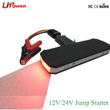 24V / 12V Portable Car Battery Booster Jump Starter para el autobús de camiones de servicio pesado