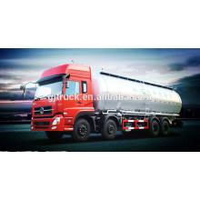 Camión a granel del polvo del cemento de 8x4 40CBM Dongfeng / camión del polvo seco / camión del transporte del cemento (LHD y RHD)
