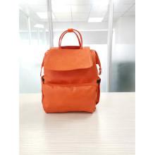 Кожаная сумка на подгузник с рюкзаком