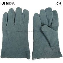 Cow Leather Labor Safety Products Welding Working Gloves (L002)