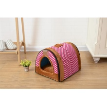 High Qaulity Pink Dog Kennel