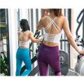 Gilet de yoga de soutien-gorge de sport de fitness à sec
