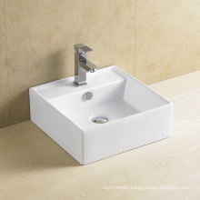 Popular Square Porcelain Wash Basin 8079
