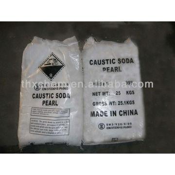 caustic soda or sodium hydroxide flakes 99%