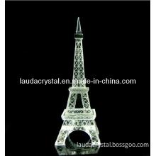 200mm Crystal Eiffel Tower for Birthday Gift
