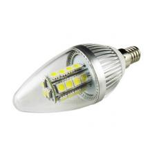 Alta potência C37 E14 LED 27 5050 SMD Lâmpada Candle Bulb Light