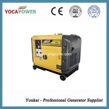 Звукопоглощающий дизельный генератор с низким уровнем шума 5.5кВт