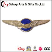 Logotipo de insignia de pin de solapa de esmalte 3D para Eagle