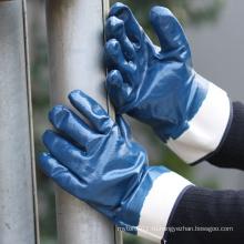 NMSAFETY персонализированные нитрила промышленные перчатки работы со стандартом EN 388 4111