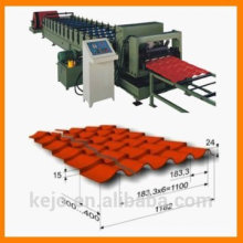 2016 New Style glazed tile sheet metal roofing cold Roll Forming Machine