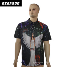 New Hot Selling Sublimation Mens Polo Jersey Shirt Customized Polo
