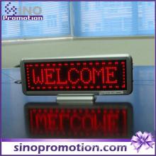 Exposição personalizada do sinal da mensagem do carro do diodo emissor de luz da propaganda do táxi