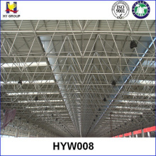 Prefabricated steel structure space frame systems