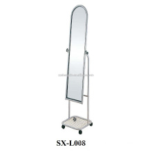 Bedroom Big Removable Metal Dressing Mirror for Sale