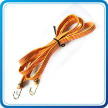 Factory Wholesale Square Shape Elastic Bungee Cord with Metal Hook for Hiking