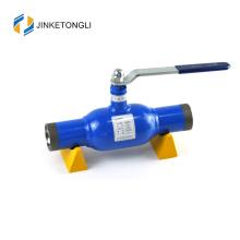 JKTL2W030 Novo design de posto de gasolina uso completo furo porta cheia válvula de esfera soldada