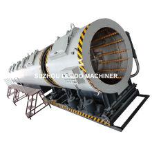 Tanque plástico refrigerando de vácuo da tubulação do PE de 630mm-1200mm