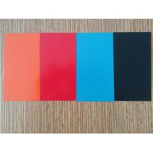 Bobine d'aluminium en revêtement couleur rouge High Gloss