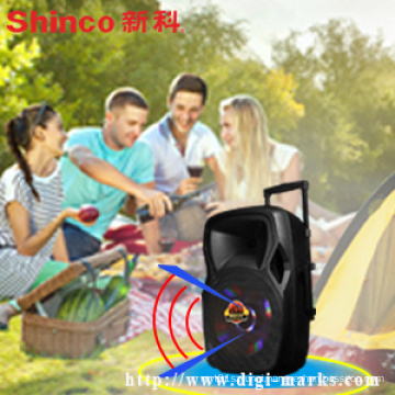 Fashion Design and Beautiful Portable Bluetooth Speaker