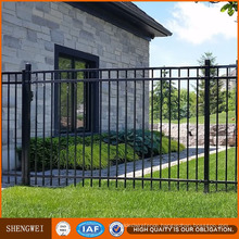 Hot DIP Galvanized Front Yard Steel Fence
