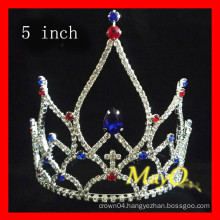 Cheap Crystal National Patriotic Pageant Crowns For Kids